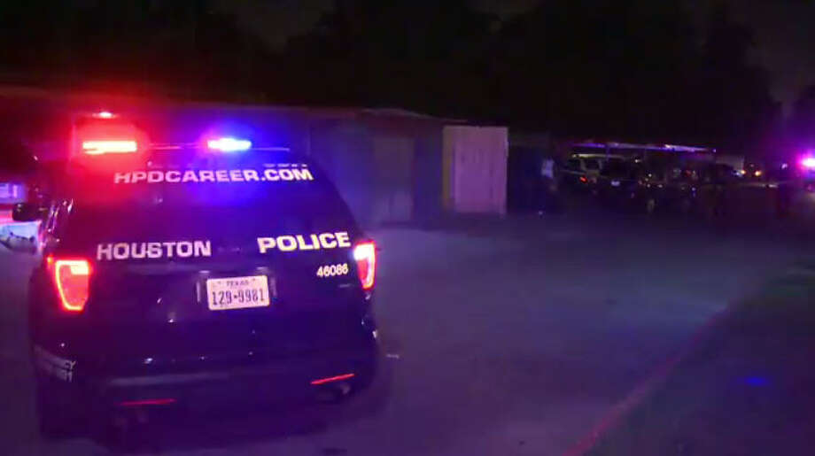 A man was found shot to death outside a west Houston apartment complex.A man was found shot to death outside a west Houston apartment complex. Photo: Metro Video