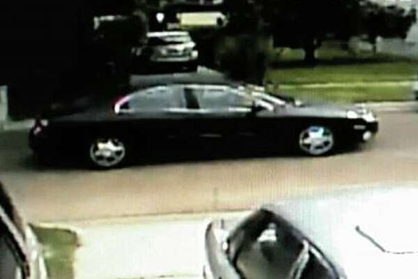Pictured is the suspect vehicle that Laredo police believe has hit three pedestrians.