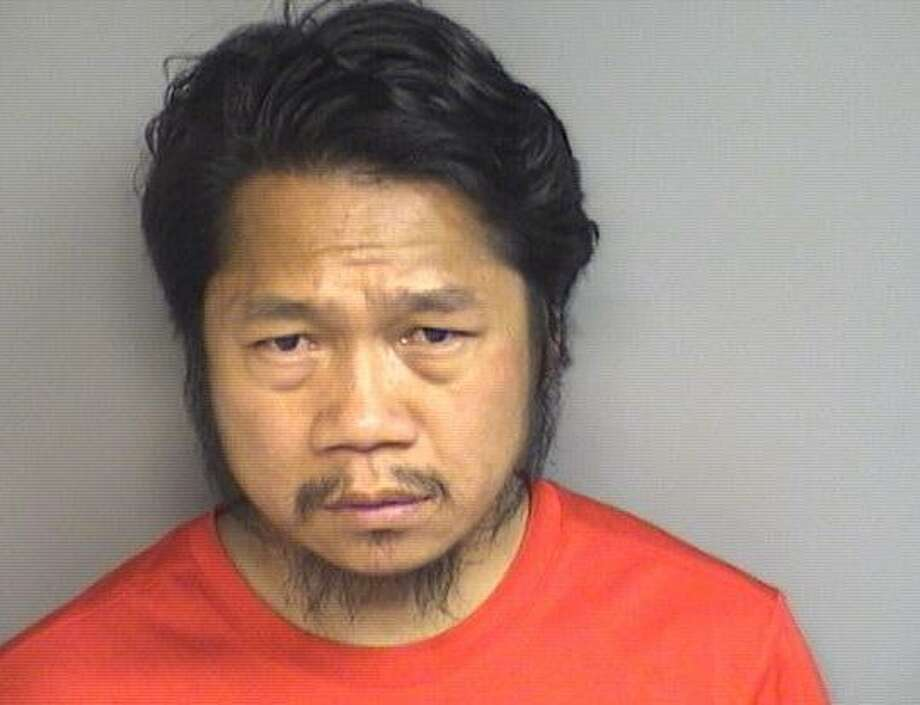 En Lian Mang, 36, was charged with fourth-degree larceny on Friday May 26. Photo: Stamford Police