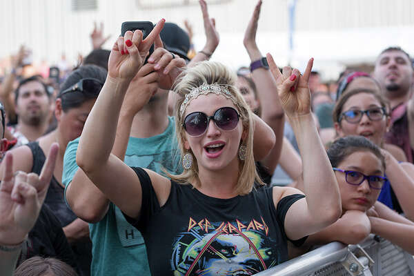 The weather was hot, but the music was hotter Saturday May 28, 2017, at the AT&T Center for the annual Bud Light River City Rockfest.