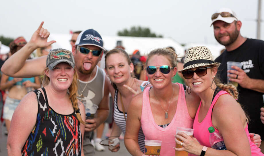 The weather was hot, but the music was hotter Saturday May 28, 2017, at the AT&T Center for the annual Bud Light River City Rockfest. Photo: B. Kay Richter, For MySA