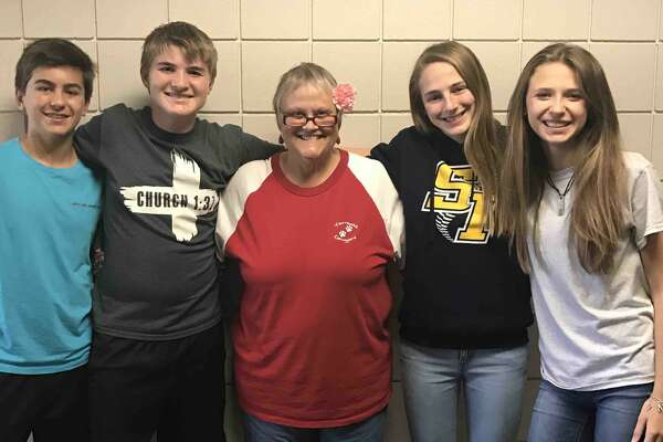 Kay Wistrand's 8th grade students rallied together to raise money to fund her bucket list after a fatal cancer diagnosis was given. Source:  GoFundMe