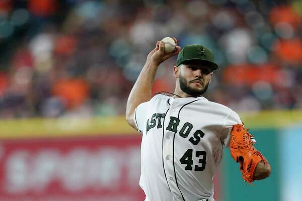 After falling behind 3-0, Lance McCullers Jr. settled down and allowed only one hit over his last four innings.