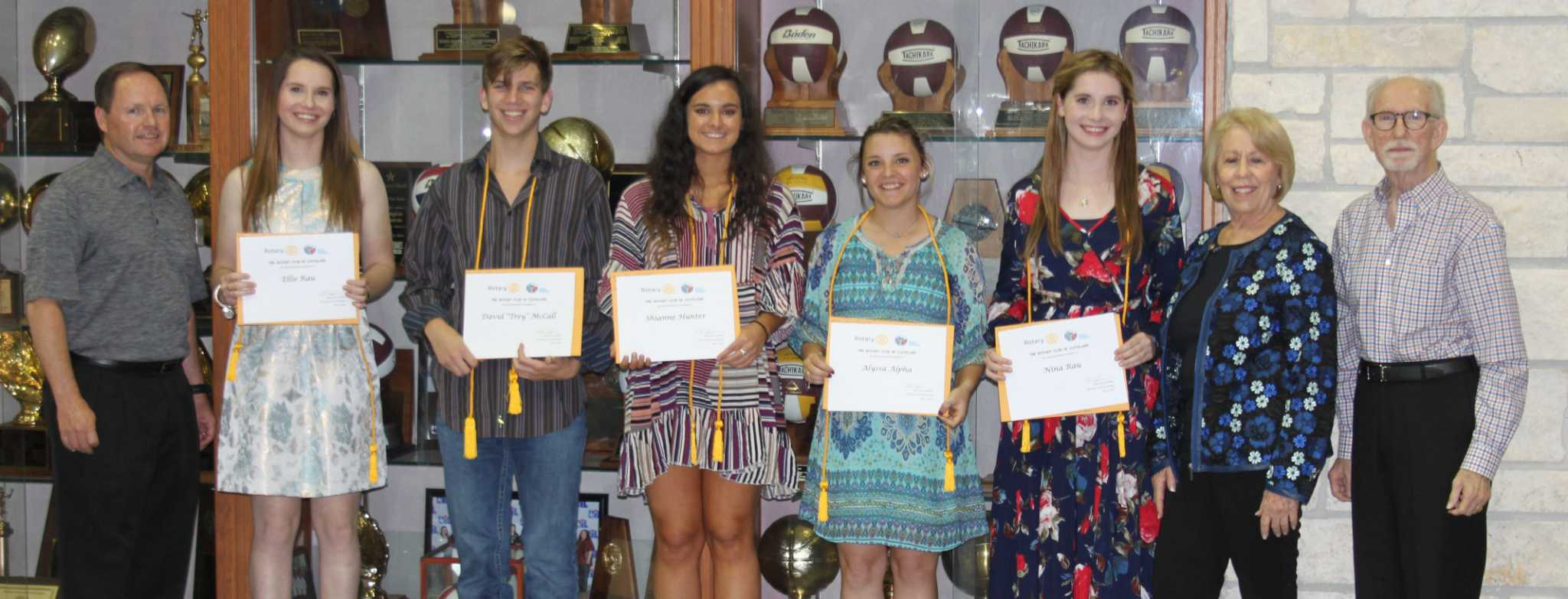 Tarkington High School Senior Award Ceremony