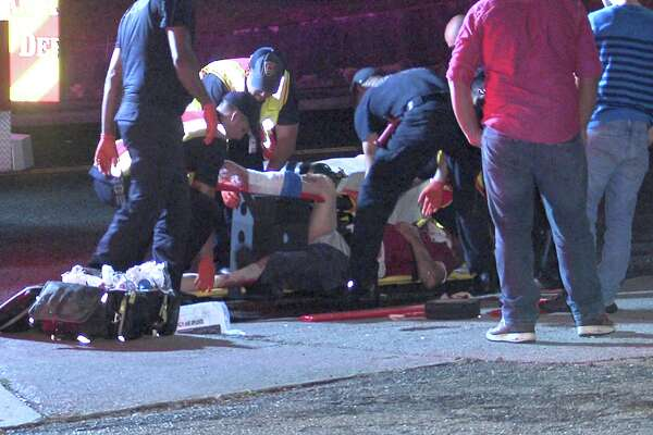Paramedics first responded to the hit-and-run call around 1:45 a.m. on May 29, 2017, in the 8500 block of Wurzbach Road, where they found the victim, a man in his 40s, suffering from trauma to his head and leg.