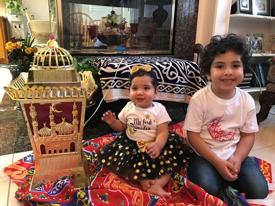 We try to do as much as we can with the décor and activities throughout  the holiest month to introduce our children to the customs and rituals. Photo: Sarah Raslan
