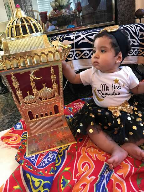 The lanterns are one of Raslan's favorite parts of Ramadan. Photo: Sarah Raslan