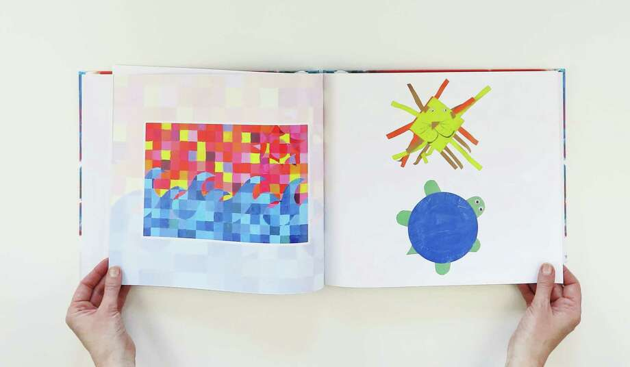Plum Print makes custom books out of kids' artwork. For $89 and up, the company handles everything, including taking photos of the artwork. Photo: Plum Print / The Washington Post