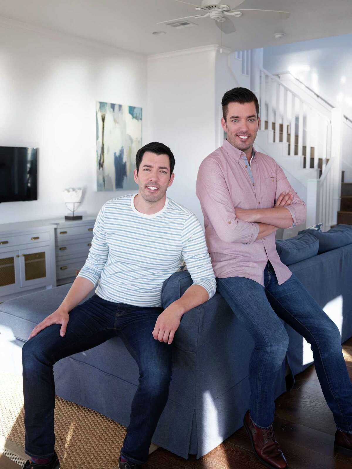 """Jonathan and Drew Scott of HGTV's """"Brother vs. Brother."""""""