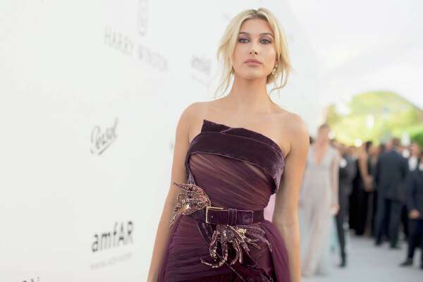 "Model Hailey Baldwin has been crowned the ""sexiest woman alive"" as cover model for the 2017 Maxim Hot 100 issue."