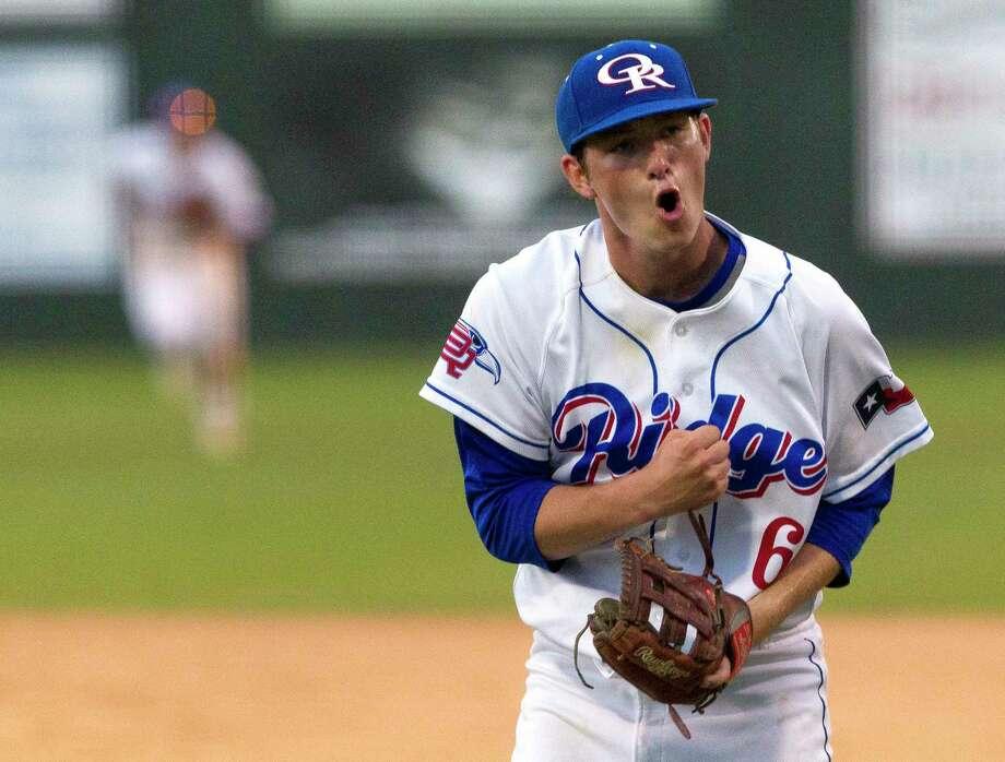 District MVP - Tyler Davis - Oak Ridge - Pitcher Photo: Jason Fochtman, Staff Photographer / © 2017 Houston Chronicle