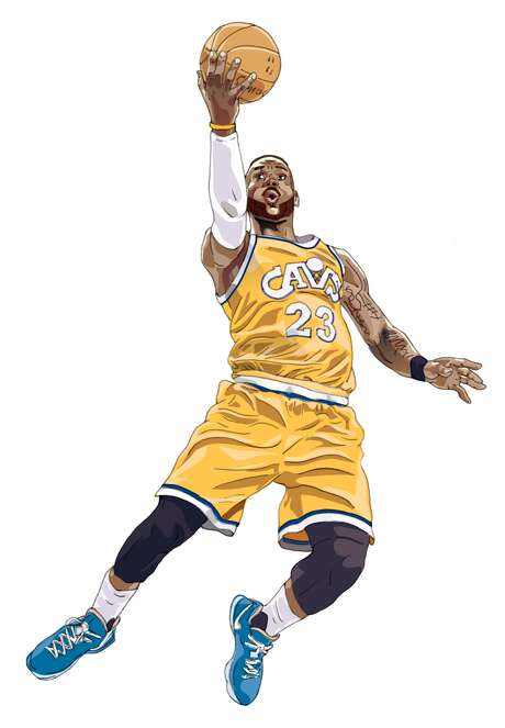 LeBron James of the Cleveland Cavaliers. Photo: John Blanchard, The Chronicle