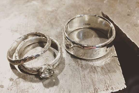 Betrothed couples are discovering an alternative path � fabricating their own,  one-of-a-kind rings in the heart of North Beach at Macchiarini Creative Designs.