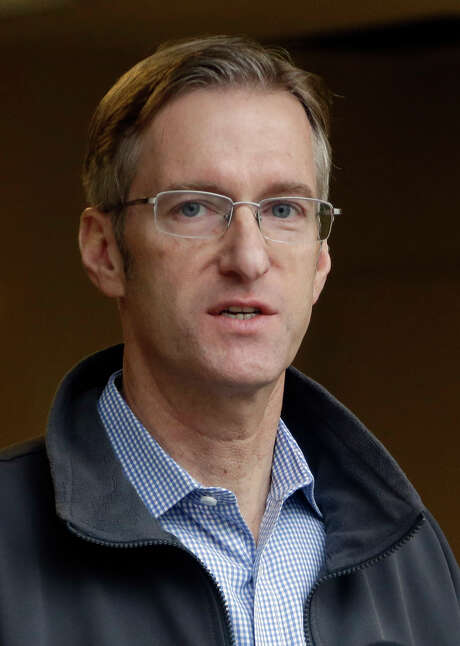 In this Jan. 17, 2017 photo, Portland Mayor Ted Wheeler speaks during a press conference in Portland, Ore.  Wheeler is condemning the actions of some protesters after a May Day march took a violent turn in Portland Monday, May 1, 2017.  (AP Photo/Don Ryan) Photo: Don Ryan, STF / Copyright 2017 The Associated Press. All rights reserved.