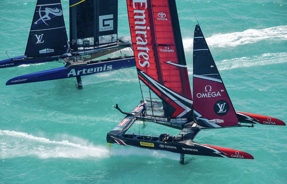 Helmsman Peter Burling admits protest was Team NZ's only option against Artemis
