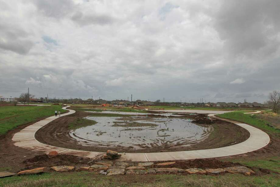 The Riverstone development in Sugar Land will feature a wetland park among other natural areas designed to give residents a new and different environment. Photo: Steve Gonzales, Staff / © 2017 Houston Chronicle