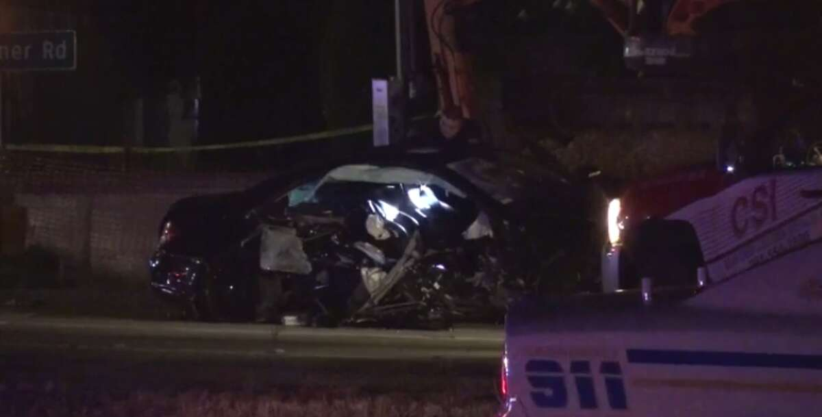 Deputies are investigating a crash on Monday in Cypress that left two dead and one injured. (Metro Video)