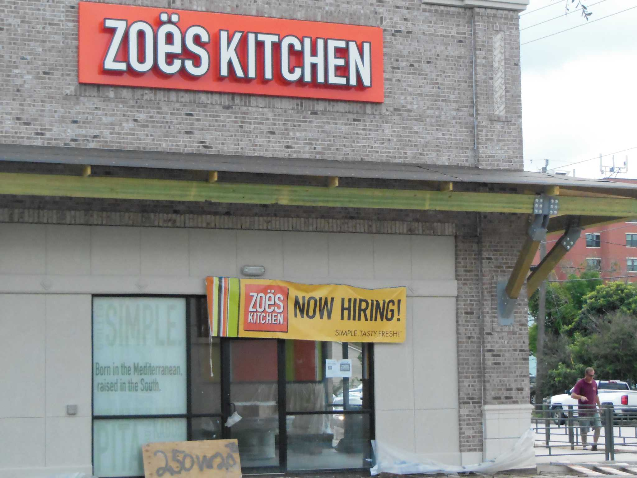 Zoës Kitchen to double number of Houston-area locations - Houston ...