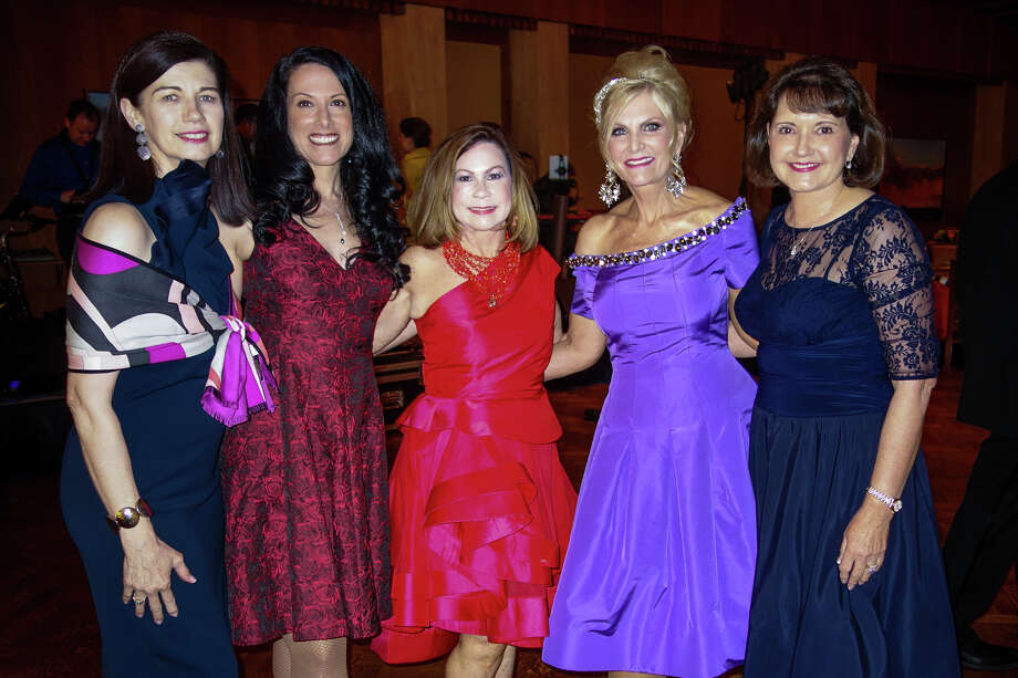 Coterie Club: Shawn Higgins, from left, Dana Vonn, Rebecca Speigh, Victoria Printz and Audrey Curry. Photo: Courtesy Photo