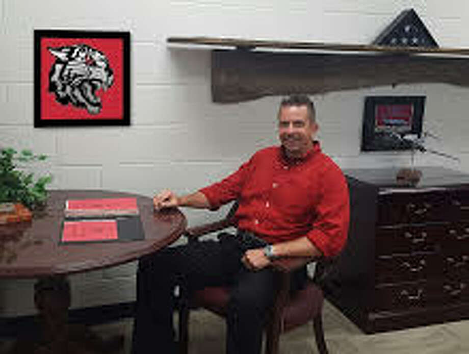 Charles Simmons as pictured on the Kirbyville High School web page.