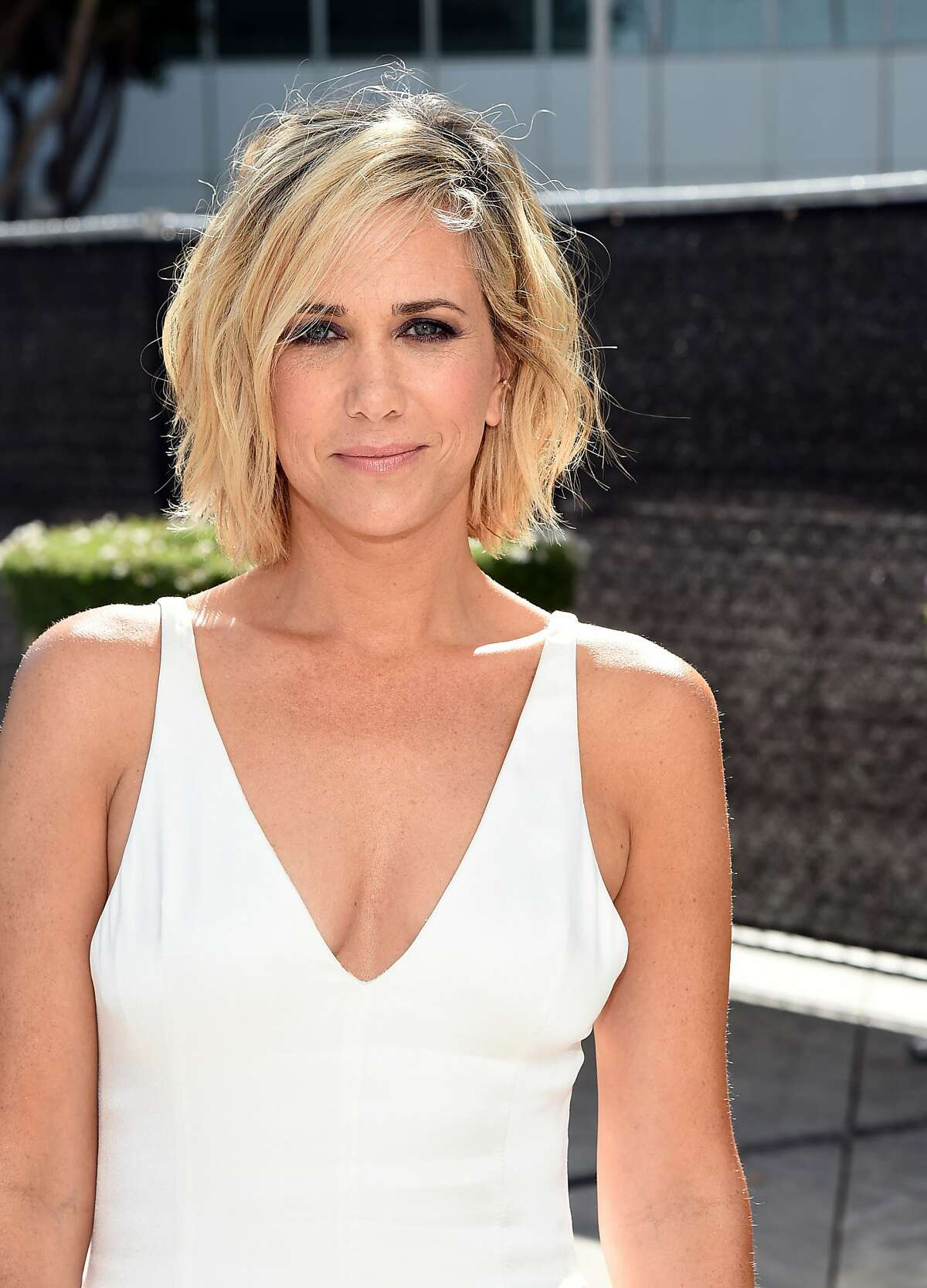 Actress Kristen Wiig attends the 66th Annual Primetime Emmy Awards held at Nokia Theatre L.A. Live on August 25, 2014 in Los Angeles, California. (Photo by Michael Buckner/Getty Images)