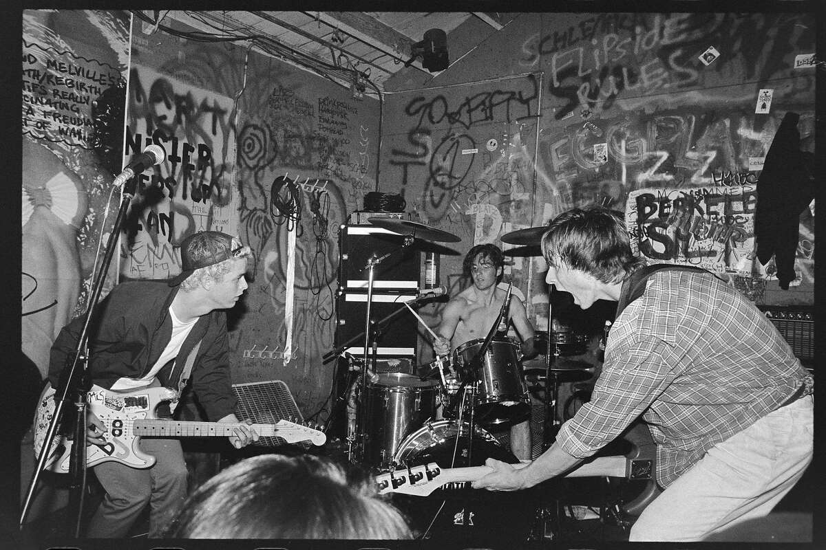 Green Day at Gilman in 1990.