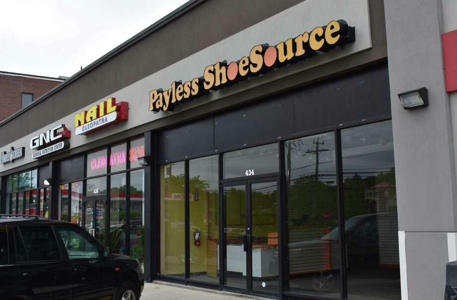 The Topeka headquarters of Payless Shoesource will be auctioned online this week, after more jobs were eliminated by the company. Photo: Alexander Soule, Hearst Connecticut Media / Stamford Advocate
