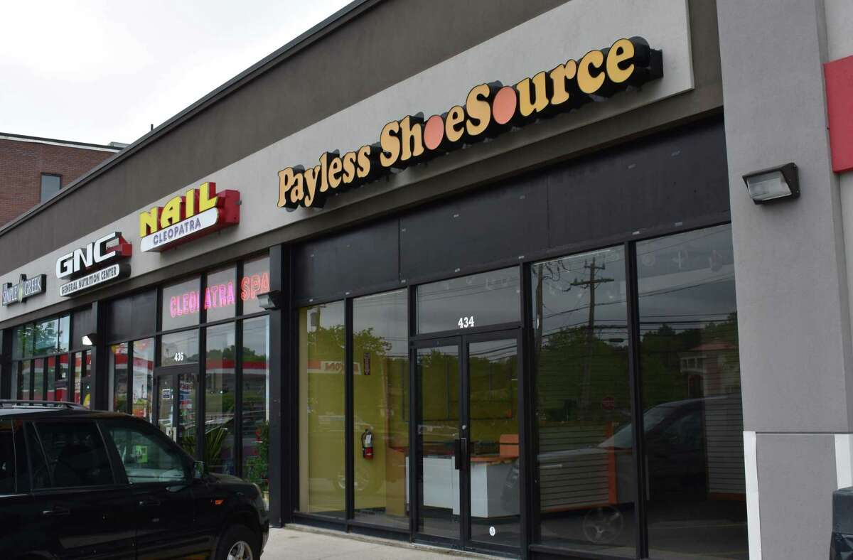 The former Payless ShoeSource store at 434 Westport Ave. in Norwalk, Conn., on May 30, 2017.