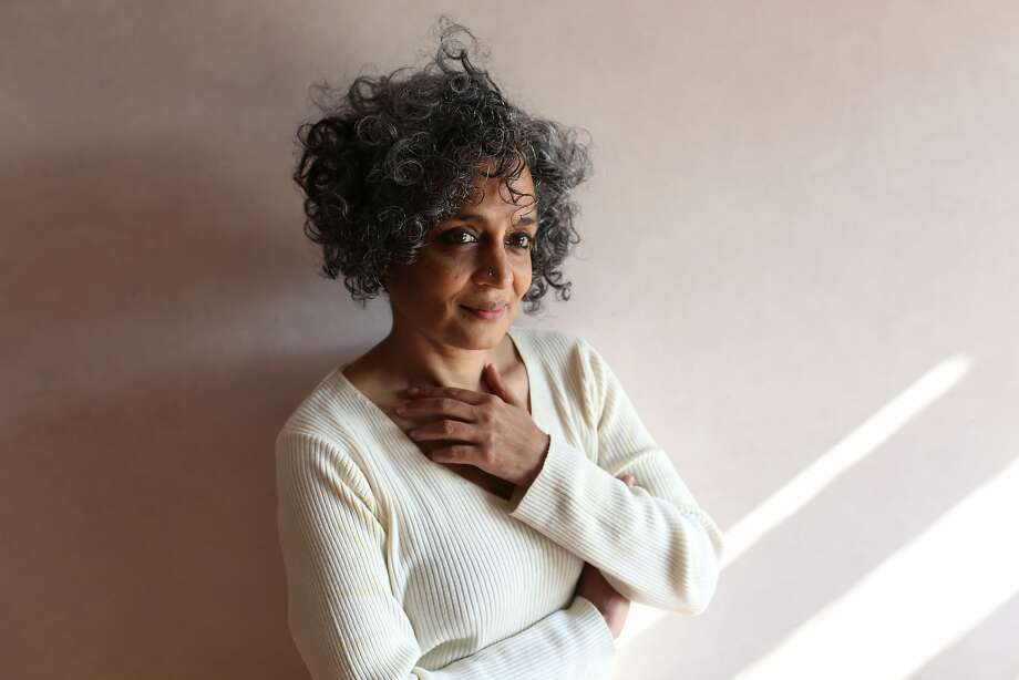 "Arundhati Roy: ""Creating the novel over 10 years, when the attention span of the world seems to be 10 seconds, seems to be an act of defiance."" Photo: Mayank Austen Soofi"