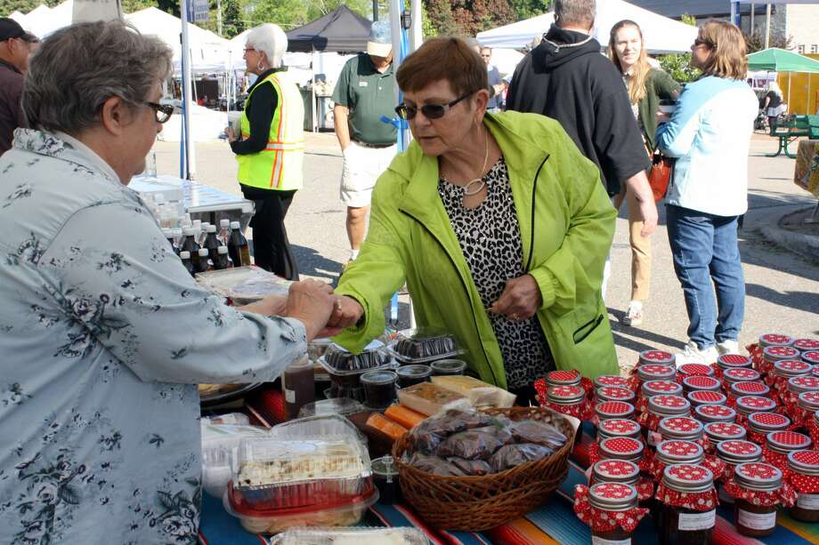 Saturday was the opening day of the Port Austin Farmer's Market season, which runs through Oct. 14. Photo: Rich Harp/For The Tribune