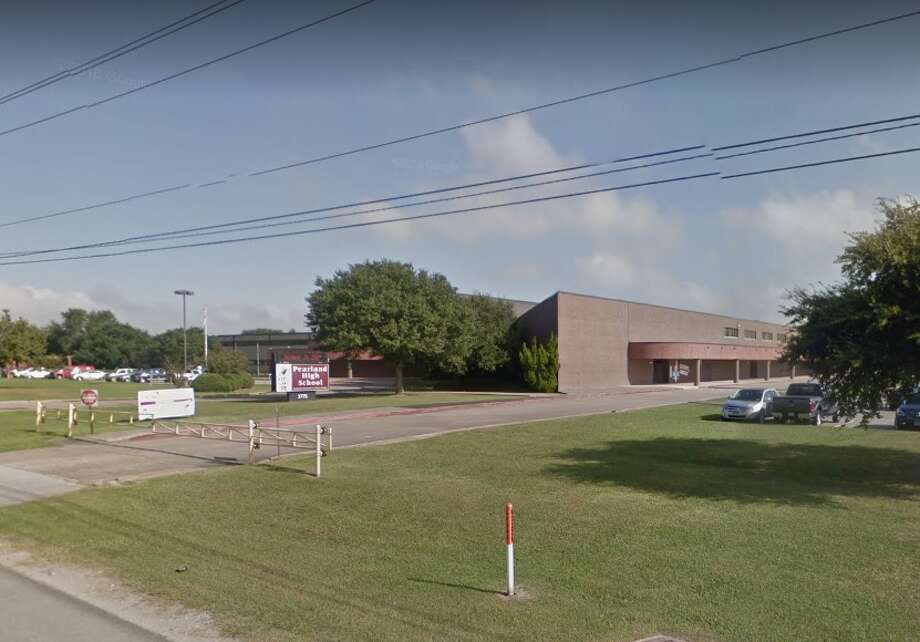 Pearland High SchoolTwo female students were found in possession of marijuana on May 15.An 18-year-old student reportedly walked into a classroom and struck another male student in the face with a closed hand on May 17. Photo: GoogleEarth