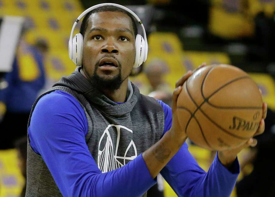 Kevin Durant and the Warriors have played only 12 games since the regular season ended April 12. Photo: Jeff Chiu, STF / Copyright 2017 The Associated Press. All rights reserved.