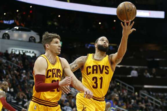 Sharpshooting Kyle Korver (left) and Deron Williams give the Cavaliers backcourt depth they lacked a year ago.