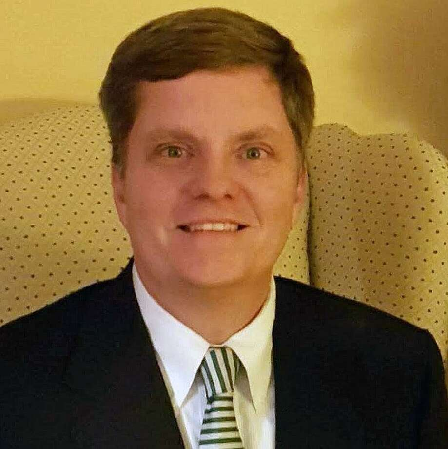Andrew Clure, a member of the Newtown Board of Education, who is seeking the Newtown Republican nomination for First Selectman. Photo: / Newtown Board Of Education.