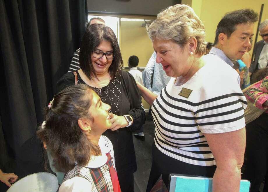 Head of School Lisa Darling has led Awty International School since 2013. Photo: Steve Gonzales, Staff / © 2017 Houston Chronicle