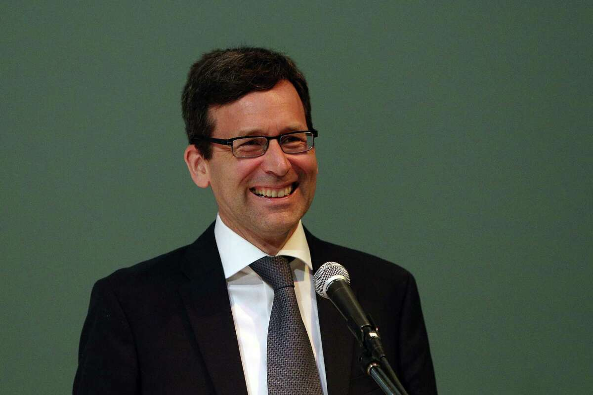 Washington Attorney General Bob Ferguson. He has sued the Trump administration on its travel ban, and is now suing to stop foot dragging and delays in energy efficiency and fuel efficiency standards.