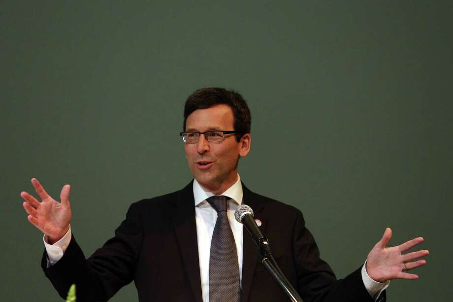 Washington State Attorney General Bob Ferguson is taking the Trump administration to court for the 18th time.  He is seeking documents on a plan that would have propped up the coal and nuclear industries. . Photo: GENNA MARTIN, SEATTLEPI.COM / SEATTLEPI.COM
