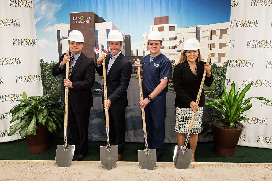 Memorial Hermann Northeast  breaks ground on new patient care tower that will feature 90 Large patient rooms. Photo: Courtesy Photo