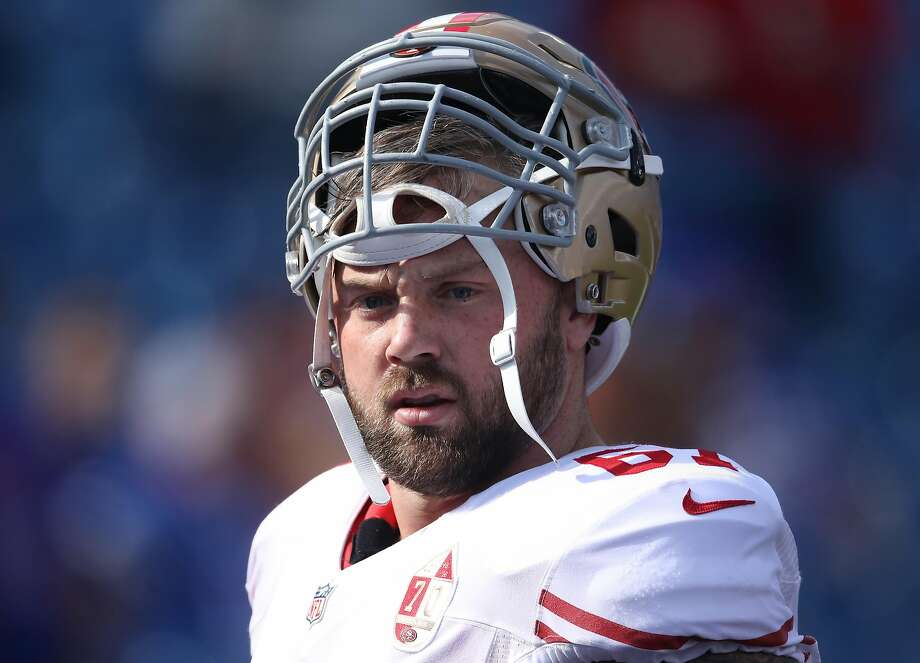 The financial details of 49ers center Daniel Kilgore's deal aren't known, but it's safe to say they won't approach Garoppolo's $137.5 windfall. Photo: Tom Szczerbowski, Getty Images