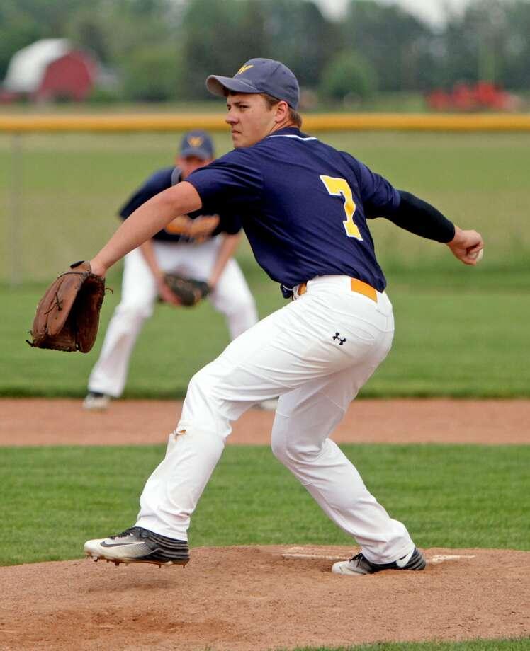 North Huron at Caseville — Baseball/Softball 2017 Photo: Paul P. Adams/Huron Daily Tribune