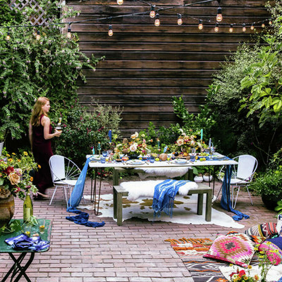 stunning floral decor for your next outdoor party sfgate