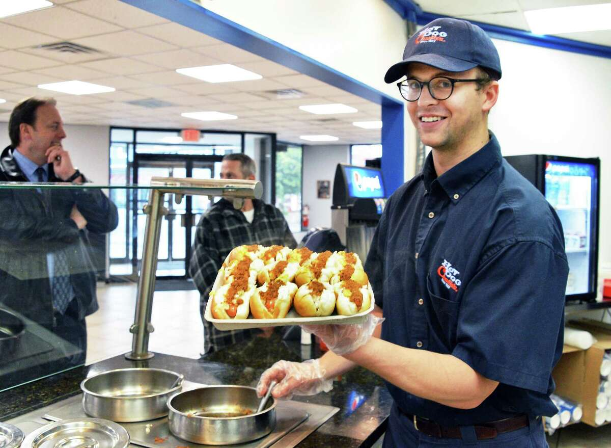 3. I hate hot dogs, chicken wings and mustard. Even smelling them makes me nauseous. (John Carl D'Annibale / Times Union)