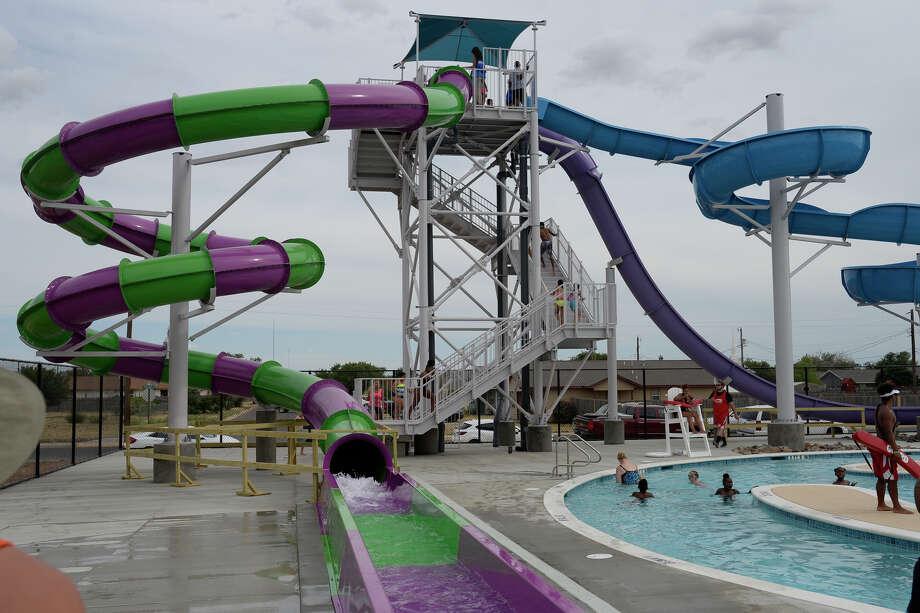 The newly renovated Washington Aquatic Center. Photo: James Durbin
