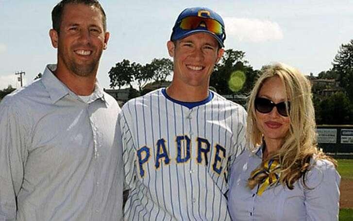 Sean and Kariann Riley with their son, Calvin.