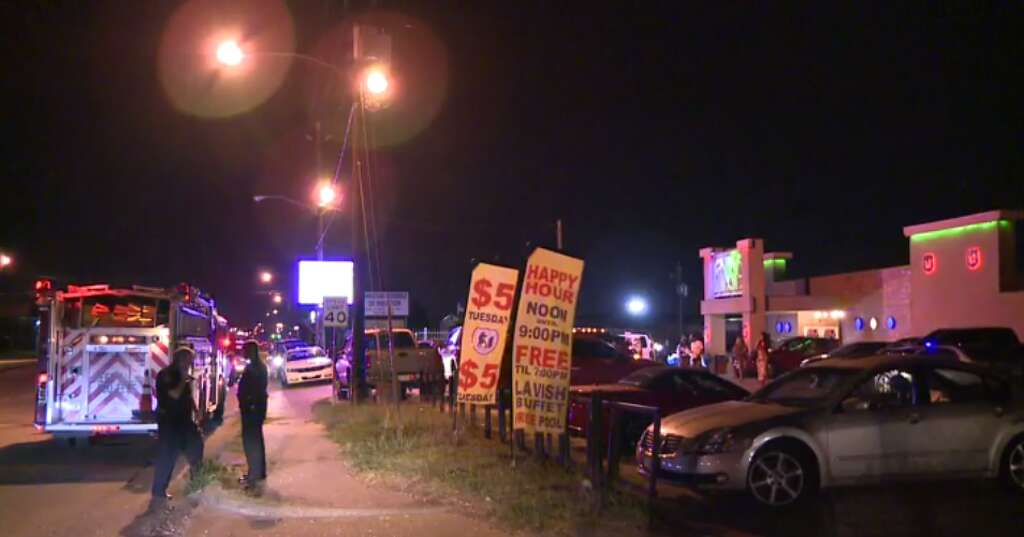 Employee injured in drive by shooting outside southwest houston the houston police department is investigating a shooting outside of a southwest houston strip club that aloadofball Choice Image