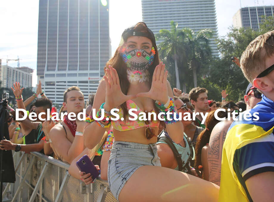 "These U.S. cities have declared themselves ""sanctuary cities"" for undocumented immigrants ..."