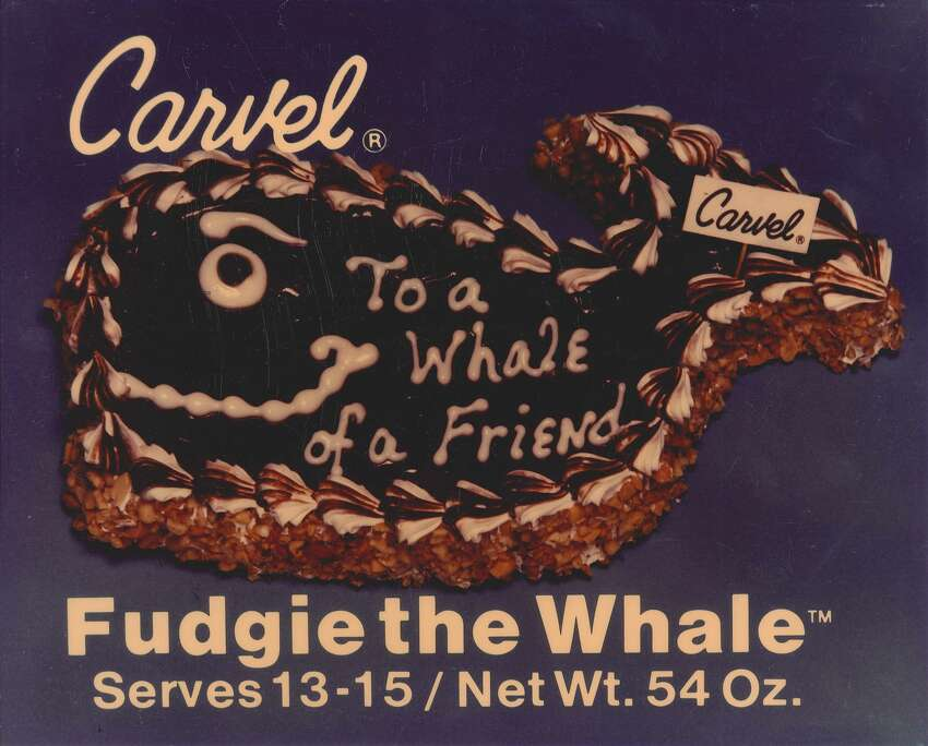 Tom Carvel created the world's first soft-serve ice cream machine in 1936.Vintage Fudgie the WhaleSource: Carvel