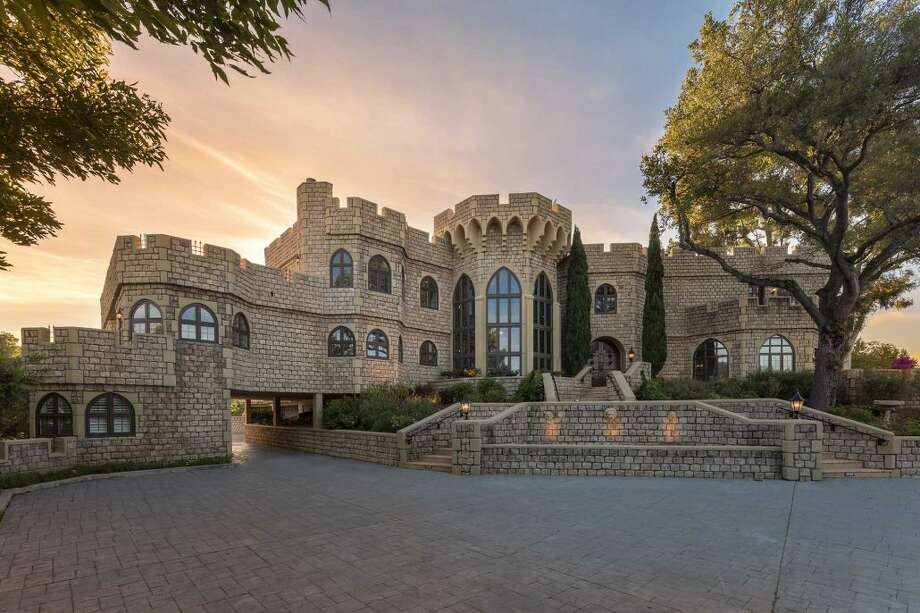 Castle on the hill: 21449 Toll Gate Road in Saratoga, Calif., is on the market for $9 million. Photo: : Anthony Halawa