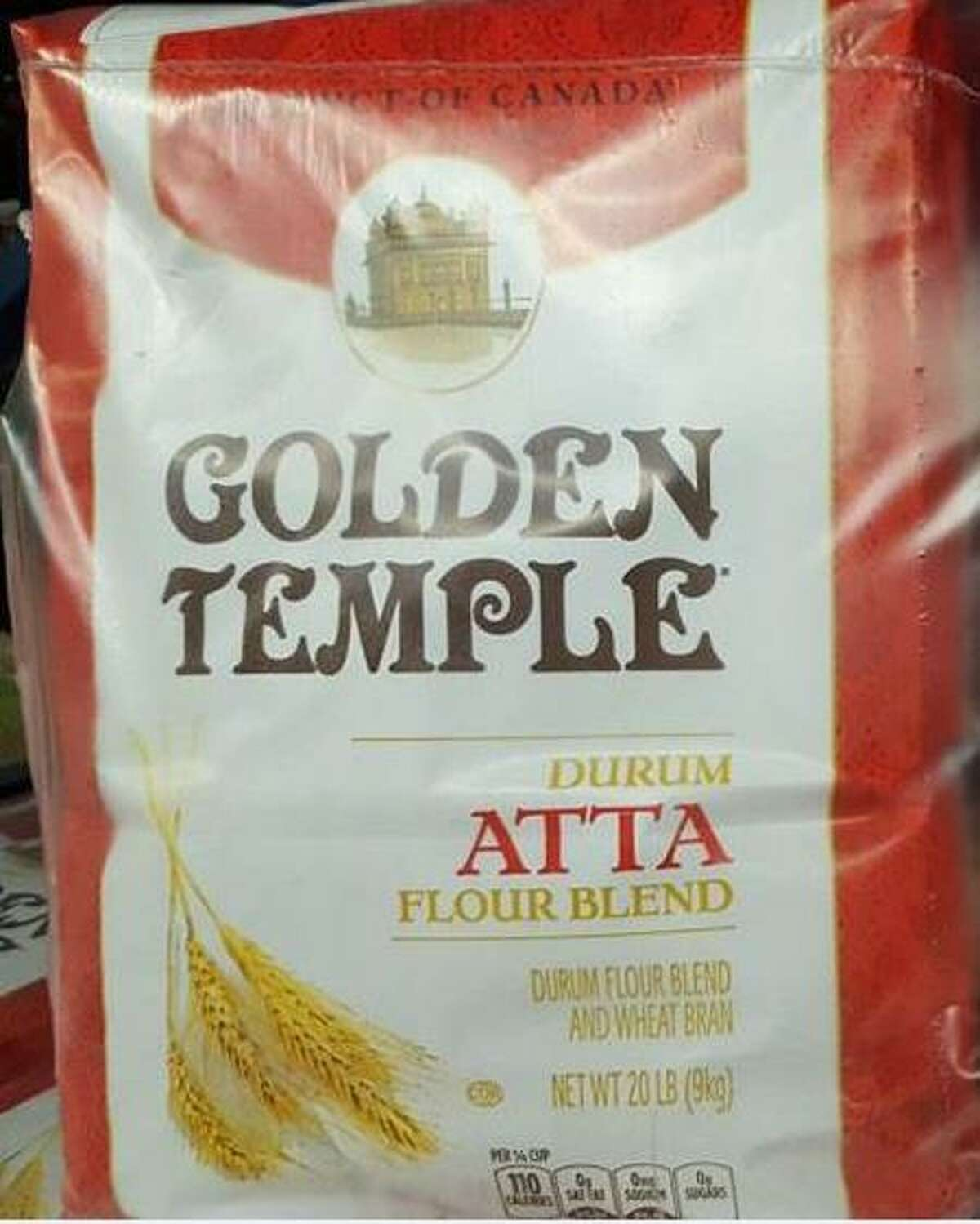 Smucker Foods of Canada Corp. has announced a voluntary recall on specific production codes of Golden Temple®, Swad®, and Maya® flour products in the U.S. due to possible E. coli 0121 contamination. Photo courtesy of the U.S. Food and Drug Administration.