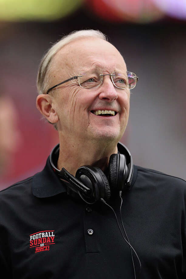 NFL reporter John Clayton  Photo: Christian Petersen/Getty Images